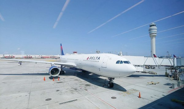 flying on Delta during the pandemic