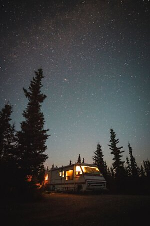 RV camping in state parks - photo by Steve Halama