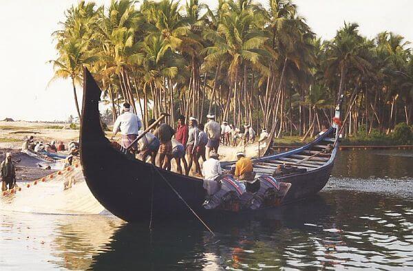 Kerala fishing boat
