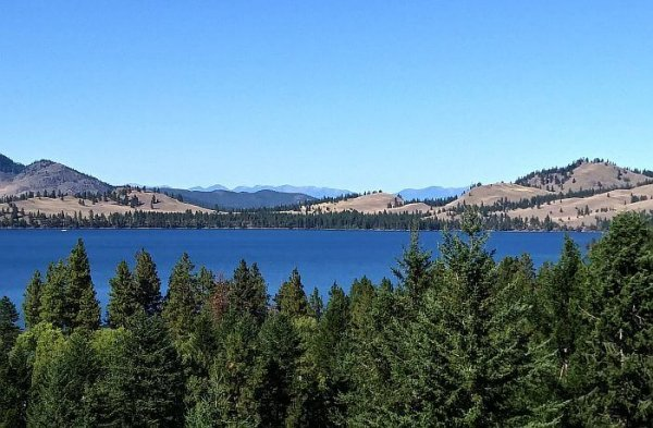U.S. state parks camping is usually less crowded and inexpensive