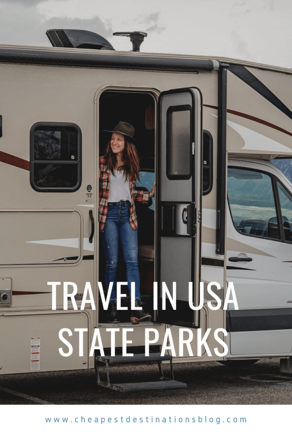 Find your own space: travel in USA state parks
