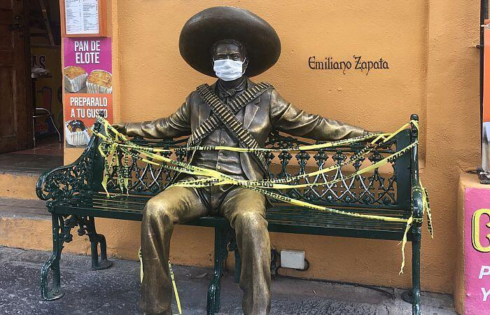 Mexican road trip during covid